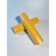 Lipnios kainos, akcijos etikėtės 2,5x3,5 cm rankiniam prekių markiravimui,geltona spalva