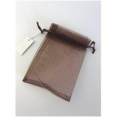 5 x 7 cm Dovanu pakavimo maišeliai iš organzos - juvelyrikos, bižuterijos papuošalams.