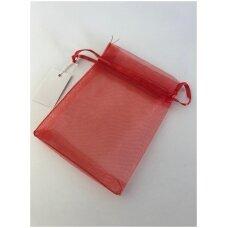 9 x 12 cm Dovanu pakavimo maišeliai iš organzos - juvelyrikos, bižuterijos papuošalams.