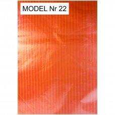 30 x 40 cm 25 mkr storio plastikiniai spalvoti maišeliai SPA su iškirsta rankenėle - prekėms, dovanai. Pakuotė 100 vnt.