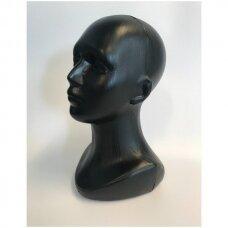 Manekeno-moters galva beisbolo kepurėms, perukams, ausinėms. Modelis GAL-PLA-MOT-J-NEW