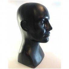 Manekeno-vyro galva beisbolo kepurėms, perukams, ausinėms. Modelis GAL-PLA-VYR-J-NEW