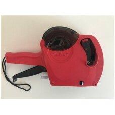 Prekių markiratorius vienos juostos KEYIDE MX5500 (raudonas)