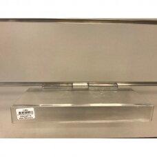 Plastiko lentynėlė E-BAT-T4 į eurosieną - avalynei, galanterijai, smulkioms prekėms