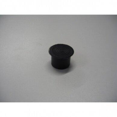 Išorinis  plastiko antgalis-padas vamzdžiui D-25 mm