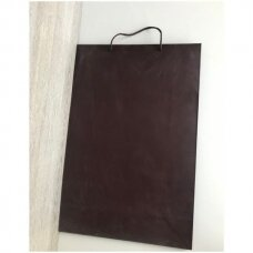 33 x 53 cm(h) popieriniai pakavimo maišeliai su virvine rankenėle - dovanai, prekėms, maisto išsinešimui.