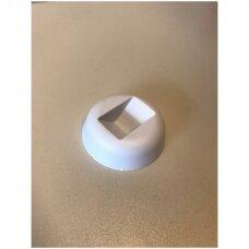 Padas-atrama 3D dėžutei. Balta spalva