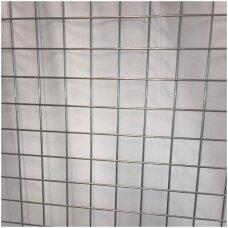 Tinklas prekybai sidabro spalvos, akutė 50 x 50 mm