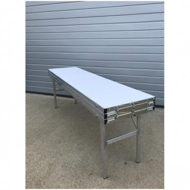 Universalus stovas-lentyna-transformeris, SUR-MET,(3 lygių,surenkamas,metalinis,ilgis 1,5m).-UŽSAKOMA PREKE. 2