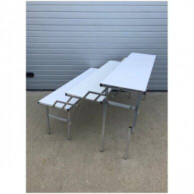 Universalus stovas-lentyna-transformeris, SUR-MET,(3 lygių,surenkamas,metalinis,ilgis 1,5m).-UŽSAKOMA PREKE. 6
