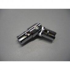 Lankstus dvejų vamzdžių D-25mm reguliuojamas sujungimas