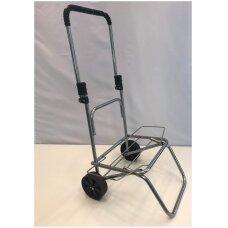 Sulankstomas metalinis vežimėlis prekėms ar kroviniams, D-20mm.